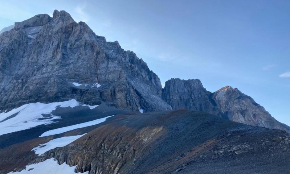 Plateau nach dem Chli Tödi
